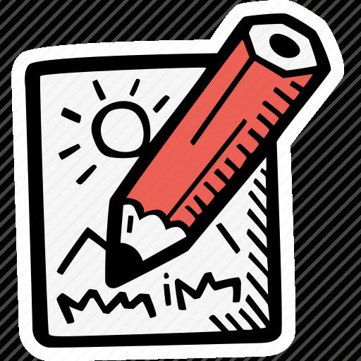 art, create, creative, drawing, edit, illustration, sketch icon