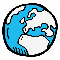 earth, europe icon