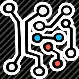 electronics, technology icon