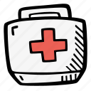 drugs, first, help, medic, medicine, medkit icon