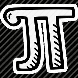 math, pi icon