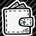 cash, finance, money, personal, wallet icon