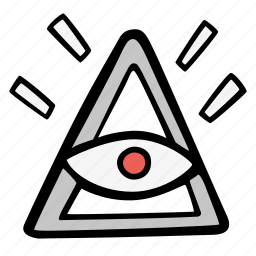 all seing eye, faith, mysticism, relligion, symbolism icon