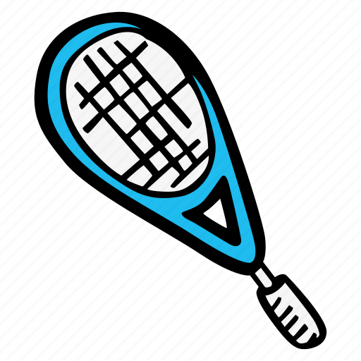 rocket, sport, tennis icon