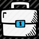 briefcase, business, case, dressing-case