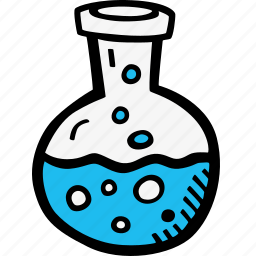 chemical, chemistry, flask, fluid, potion icon
