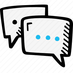 chat, communication, dialog, skills, text icon