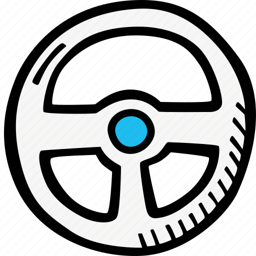 auto, driver, driving wheel, vechicle icon