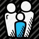 family, group, people, studies icon