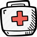 drugs, first, help, medic, medicine, medkit