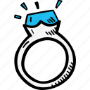 design, engagement, jewelry, ring icon