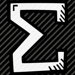 math, sum icon