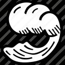 ocean, oceanography, sea, water, wave icon