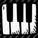instrument, music, piano