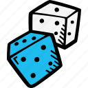gaming, dice, probability