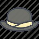 accessories, cap, clothes, filled, hat, men, outline