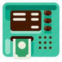 accommodation, atm, holiday, hotel, travel, trip, vacation icon
