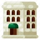 accommodation, holiday, hotel, travel, trip, vacation icon