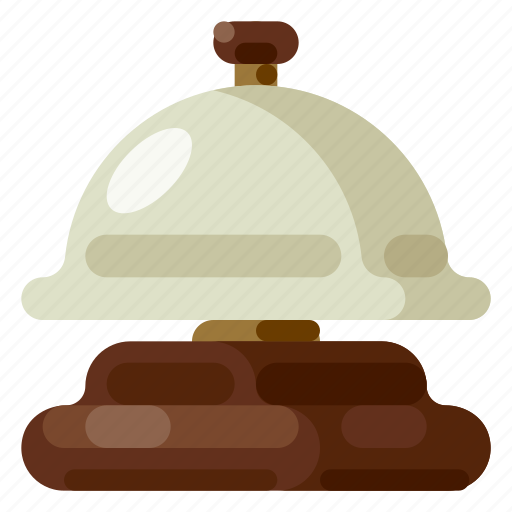Accommodation, bell, holiday, hotel, travel, trip, vacation icon - Download on Iconfinder