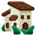 accommodation, holiday, hotel, house, travel, trip, vacation icon