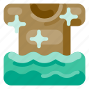accommodation, holiday, hotel, laundry, travel, trip, vacation icon