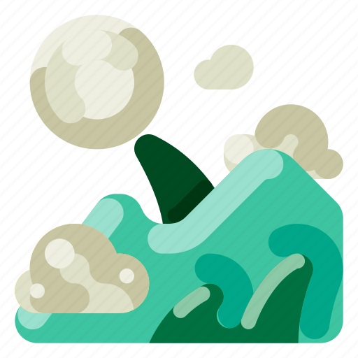Accommodation, hotel, mountain, scenery, travel, trip, vacation icon - Download on Iconfinder