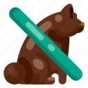 accommodation, animal, hotel, no pets allowed, travel, trip, vacation icon