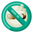 accommodation, holiday, hotel, no smoking, travel, trip, vacation icon