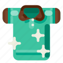 accommodation, hotel, polo, shirt, travel, trip, vacation icon