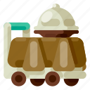 accommodation, hotel, room, services, travel, trip, vacation icon