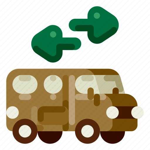 accommodation, holiday, hotel, shuttlebus, travel, trip, vacation icon