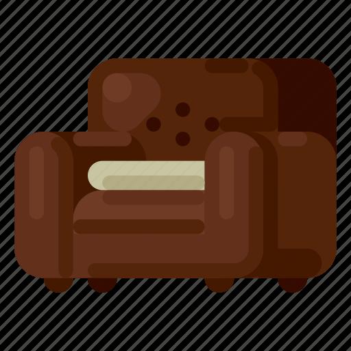 accommodation, holiday, hotel, sofa, travel, trip, vacation icon