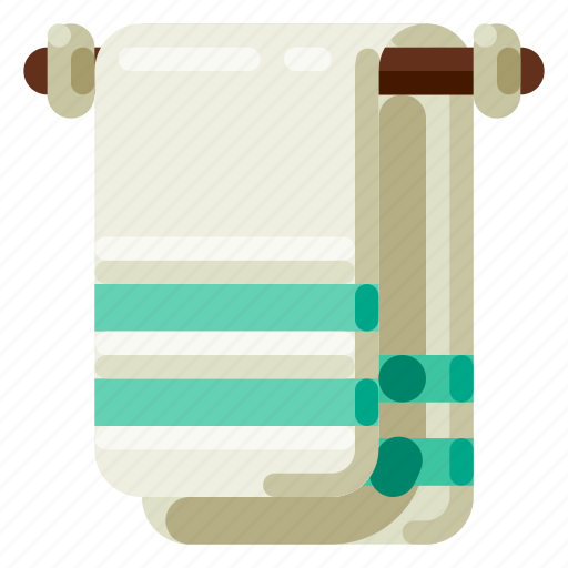 Accommodation, holiday, hotel, towel, travel, trip, vacation icon - Download on Iconfinder