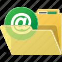 folder, email, directory, data, envelope, send