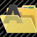 folder, font, data, directory, document, documents