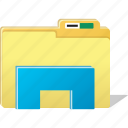 cloud, directory, document, folder, stand, storage icon