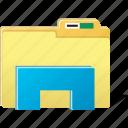 folder, stand, directory, document, storage, cloud