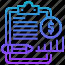 cash, flow, money, plan, statement icon