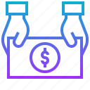 earning, income, money, revenue, wage icon