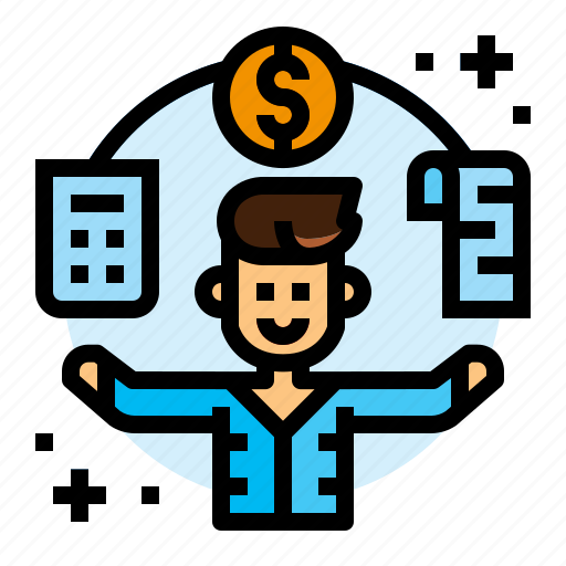 Accountant, accounting, bookkeeper, sale icon - Download on Iconfinder