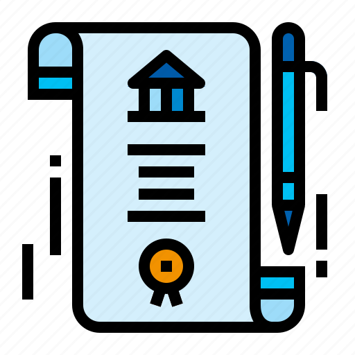 Accounting, bond, obligation, recognizance icon - Download on Iconfinder