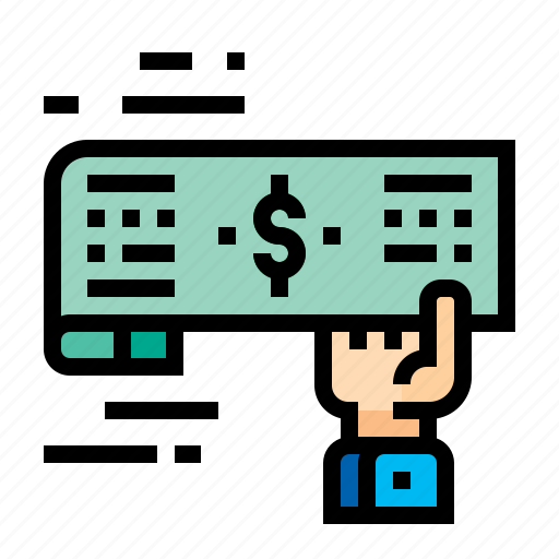 Accounting, check, cheque, receipt icon - Download on Iconfinder