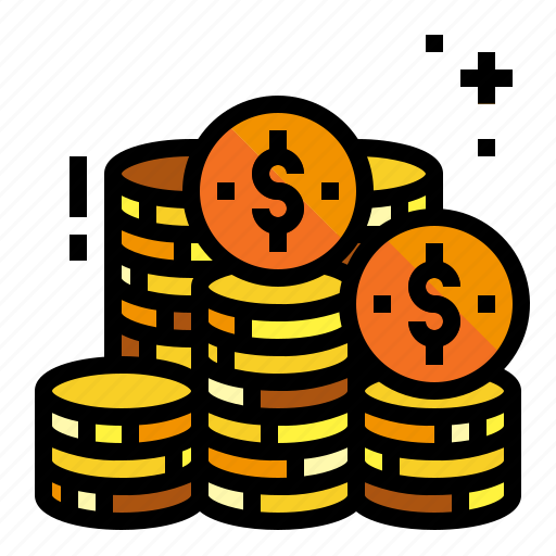 Accounting, coin, costing, token icon - Download on Iconfinder