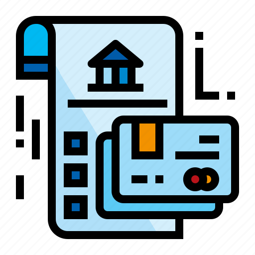 accounting, agreement, contract, credit icon