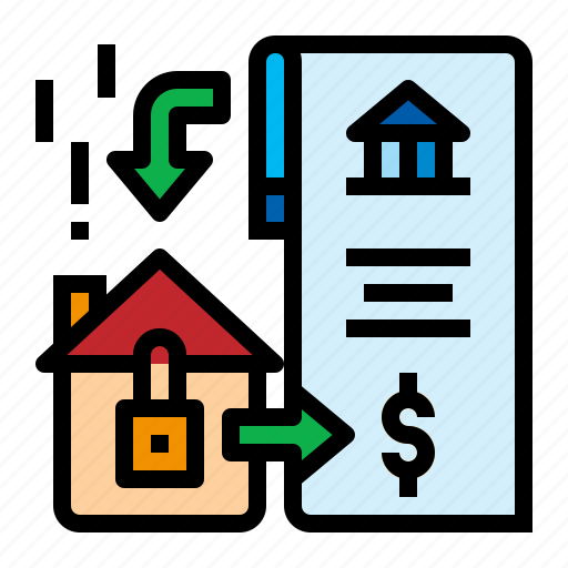 Accounting, contract, home, mortgage icon - Download on Iconfinder