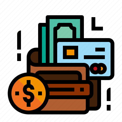 accounting, money, pay, wallet icon