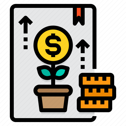 Account, accounting, business, finance, growth, money, report icon - Download on Iconfinder