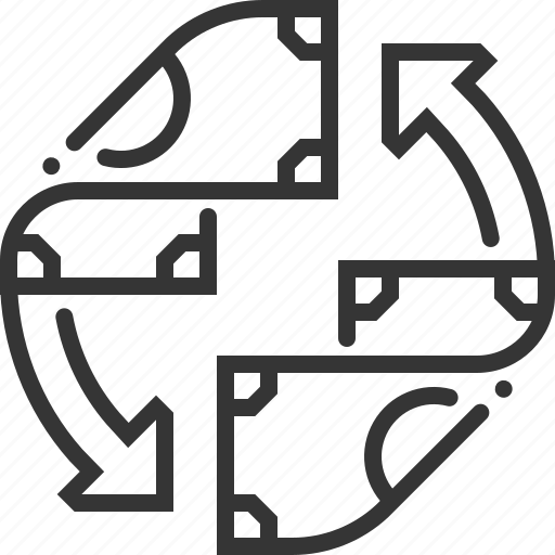 cash flow, earnings, expense, income, money, profit icon