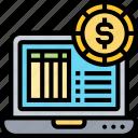 income, accounting, revenue, computing, statement