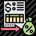 interest, document, percentage, tax, rate